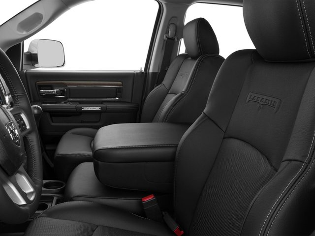 2015 Ram Truck 3500 Prices and Values Mega Cab Laramie 2WD front seat interior