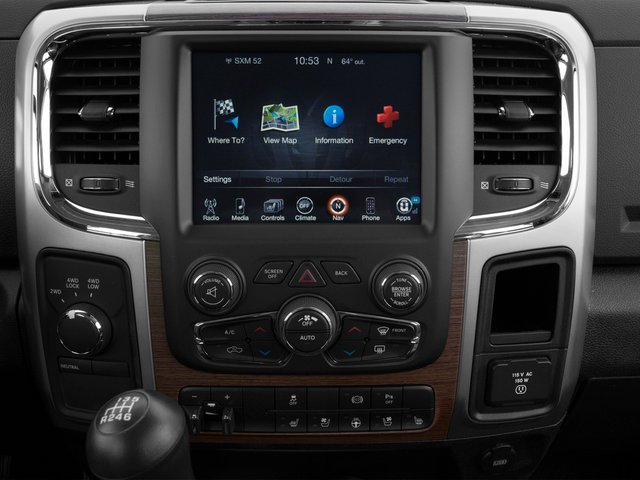 2015 Ram Truck 3500 Prices and Values Mega Cab Laramie 4WD stereo system