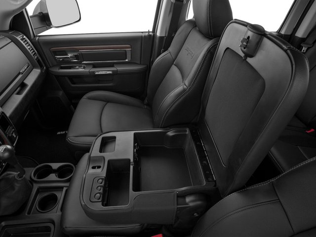 2015 Ram Truck 3500 Prices and Values Mega Cab Laramie 2WD center storage console