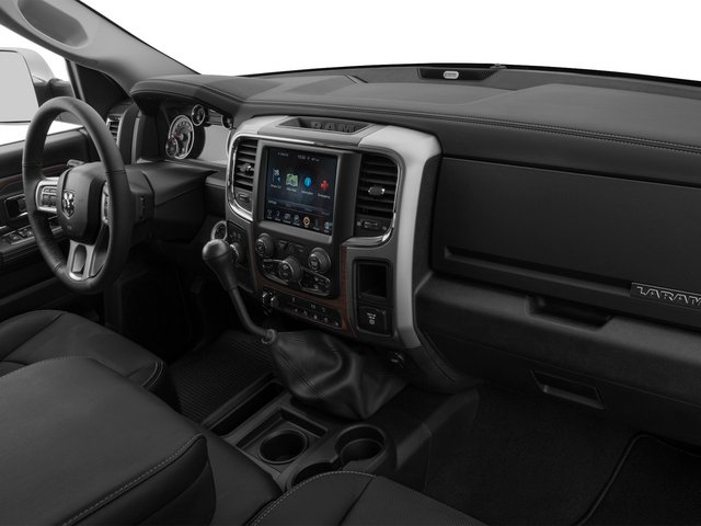 2015 Ram Truck 3500 Prices and Values Mega Cab Longhorn 4WD passenger's dashboard
