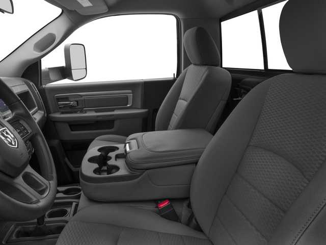 2015 Ram Truck 3500 Prices and Values Regular Cab SLT 4WD front seat interior