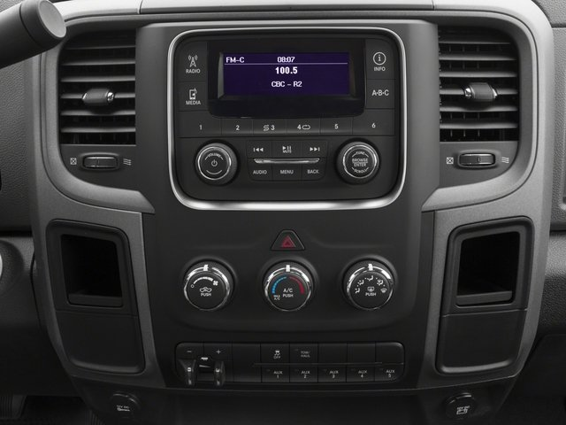 2015 Ram Truck 3500 Prices and Values Regular Cab SLT 4WD stereo system