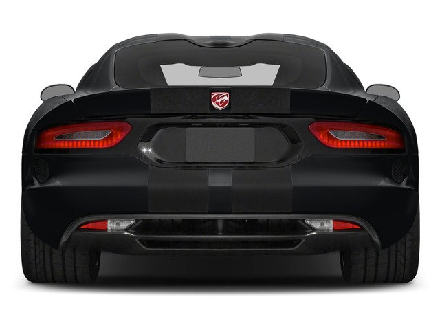 2015 Dodge Viper Prices and Values 2 Door Coupe rear view