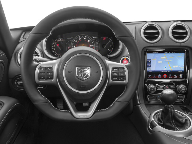 2015 Dodge Viper Prices and Values 2 Door Coupe driver's dashboard