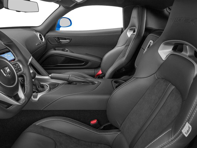 2015 Dodge Viper Prices and Values 2 Door Coupe front seat interior