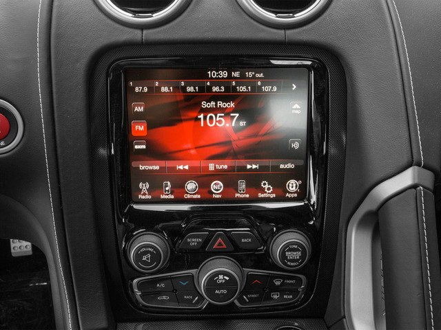 2015 Dodge Viper Pictures Viper 2 Door Coupe photos stereo system
