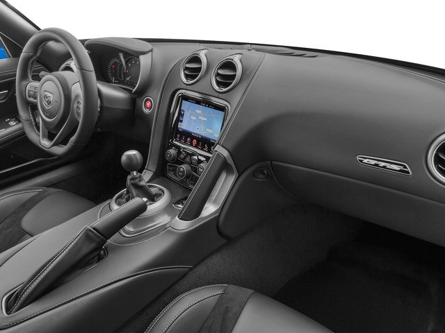 2015 Dodge Viper Prices and Values 2 Door Coupe passenger's dashboard