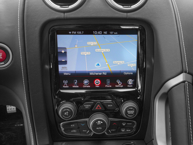 2015 Dodge Viper Pictures Viper 2 Door Coupe photos navigation system