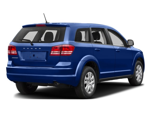 2015 Dodge Journey Prices and Values Utility 4D Crossroad 2WD side rear view