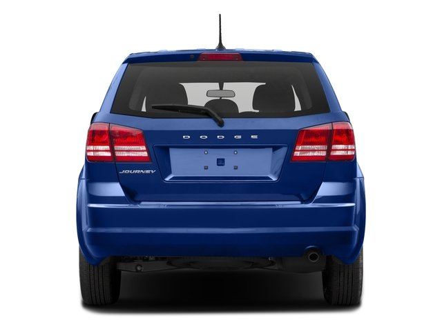 2015 Dodge Journey Prices and Values Utility 4D SXT 2WD rear view