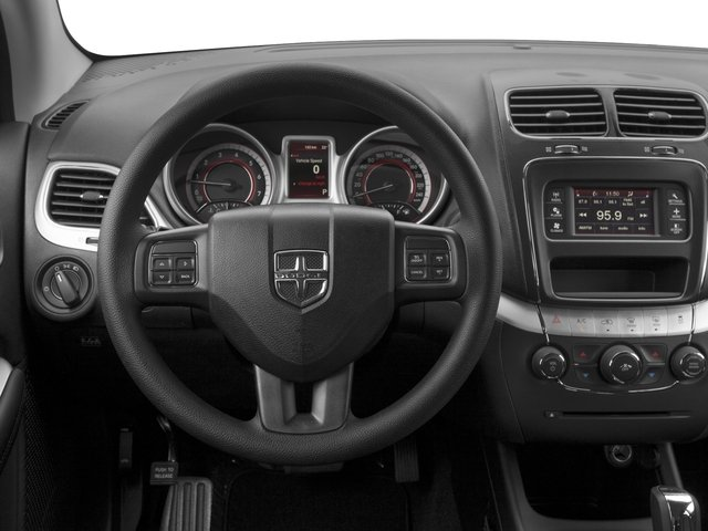 2015 Dodge Journey Prices and Values Utility 4D SXT 2WD driver's dashboard