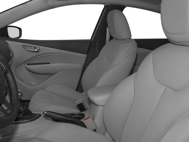 2015 Dodge Dart Prices and Values Sedan 4D SXT I4 front seat interior