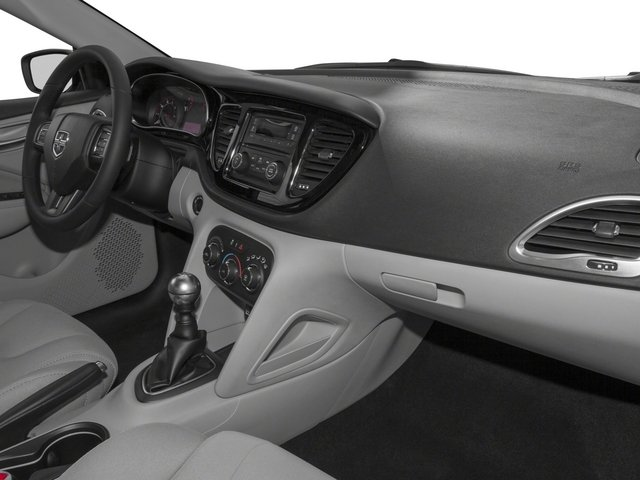 2015 Dodge Dart Prices and Values Sedan 4D Limited I4 passenger's dashboard