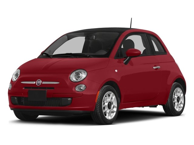 2015 FIAT 500 Pictures 500 Hatchback 3D Sport I4 photos side front view
