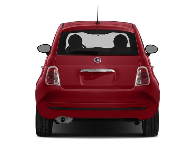 2015 FIAT 500 Pictures 500 Hatchback 3D Sport I4 photos rear view
