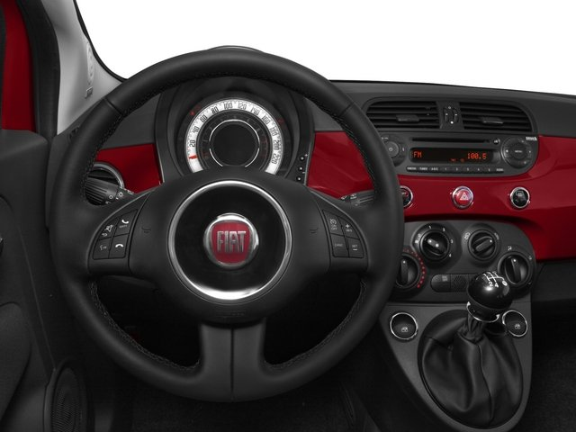 2015 FIAT 500 Pictures 500 Hatchback 3D Sport I4 photos driver's dashboard