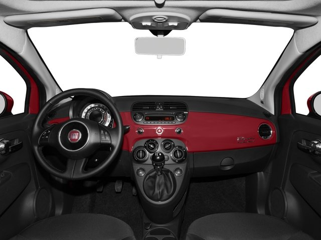 2015 FIAT 500 Pictures 500 Hatchback 3D Sport I4 photos full dashboard