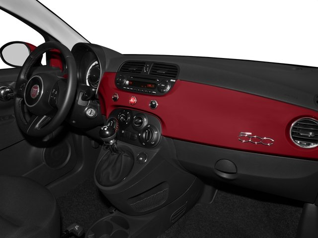 2015 FIAT 500 Pictures 500 Hatchback 3D Sport I4 photos passenger's dashboard