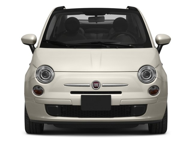 2015 FIAT 500c Prices and Values Convertible 2D Lounge I4 front view