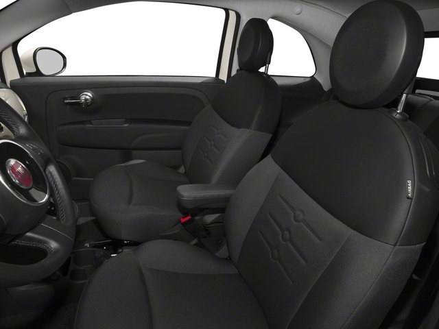 2015 FIAT 500c Prices and Values Convertible 2D Lounge I4 front seat interior