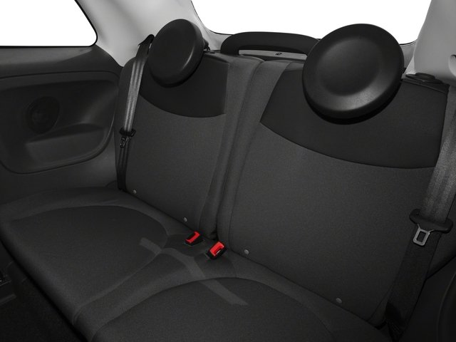 2015 FIAT 500c Prices and Values Convertible 2D Lounge I4 backseat interior
