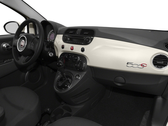 2015 FIAT 500c Prices and Values Convertible 2D Lounge I4 passenger's dashboard