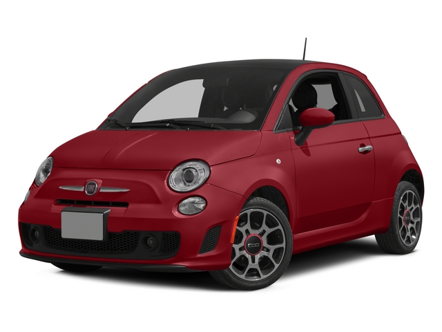 2015 FIAT 500 Prices and Values Hatchback 3D I4 Turbo side front view