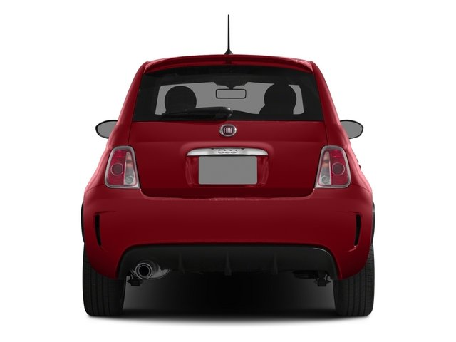 2015 FIAT 500 Prices and Values Hatchback 3D I4 Turbo rear view
