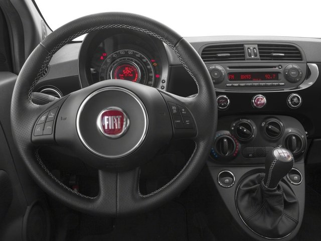 2015 FIAT 500 Prices and Values Hatchback 3D I4 Turbo driver's dashboard