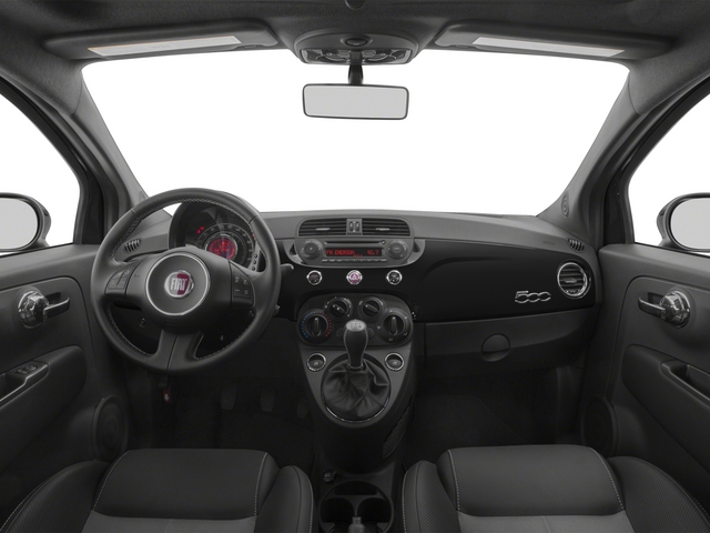 2015 FIAT 500 Prices and Values Hatchback 3D I4 Turbo full dashboard