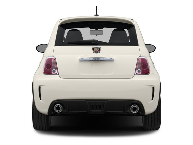 2015 FIAT 500 Pictures 500 Hatchback 3D Abarth I4 photos rear view