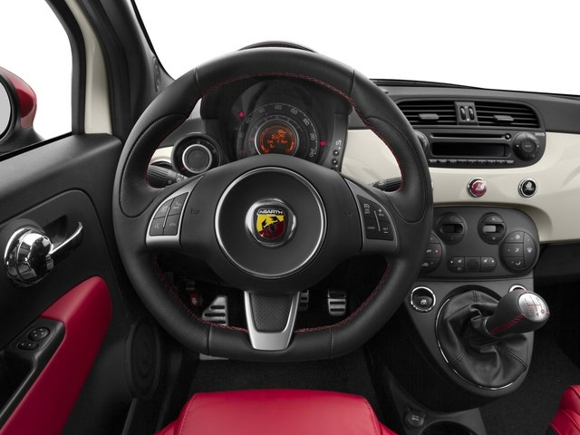 2015 FIAT 500 Pictures 500 Hatchback 3D Abarth I4 photos driver's dashboard