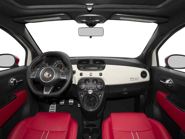 2015 FIAT 500 Pictures 500 Hatchback 3D Abarth I4 photos full dashboard