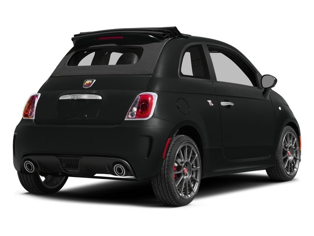 2015 FIAT 500c Pictures 500c Convertible 2D Abarth I4 photos side rear view