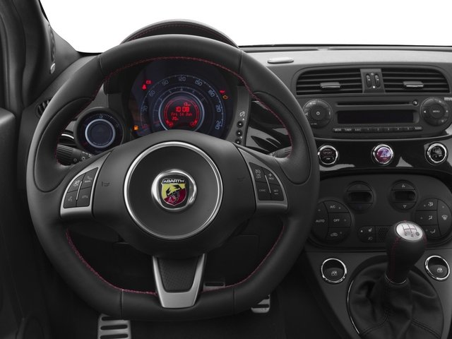 2015 FIAT 500c Prices and Values Convertible 2D Abarth I4 driver's dashboard
