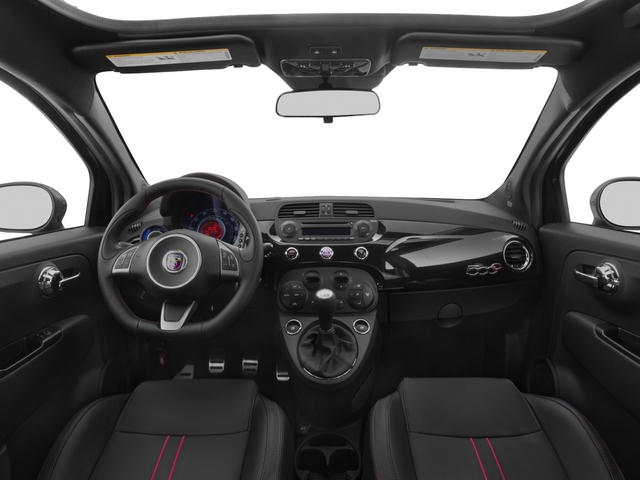 2015 FIAT 500c Prices and Values Convertible 2D Abarth I4 full dashboard