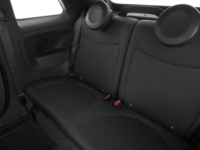 2015 FIAT 500c Prices and Values Convertible 2D Abarth I4 backseat interior