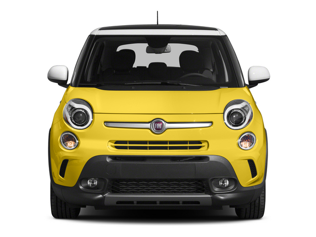 2015 FIAT 500L Pictures 500L Hatchback 5D L Trekking I4 Turbo photos front view