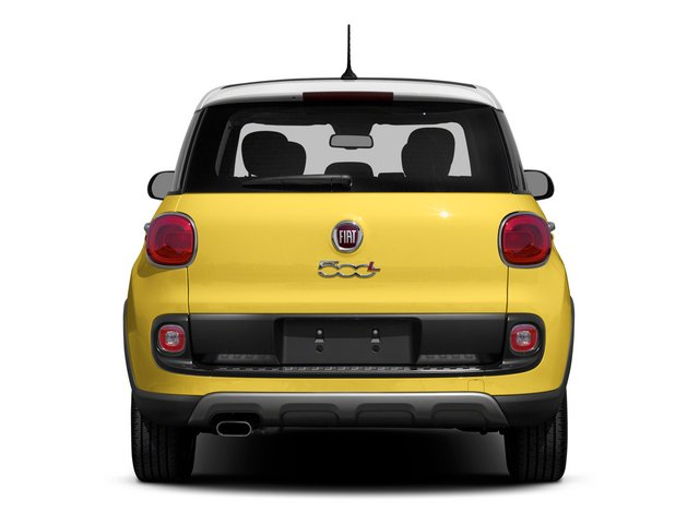 2015 FIAT 500L Pictures 500L Hatchback 5D L Trekking I4 Turbo photos rear view