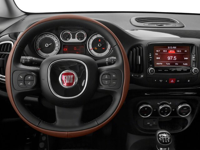 2015 FIAT 500L Pictures 500L Hatchback 5D L Trekking I4 Turbo photos driver's dashboard