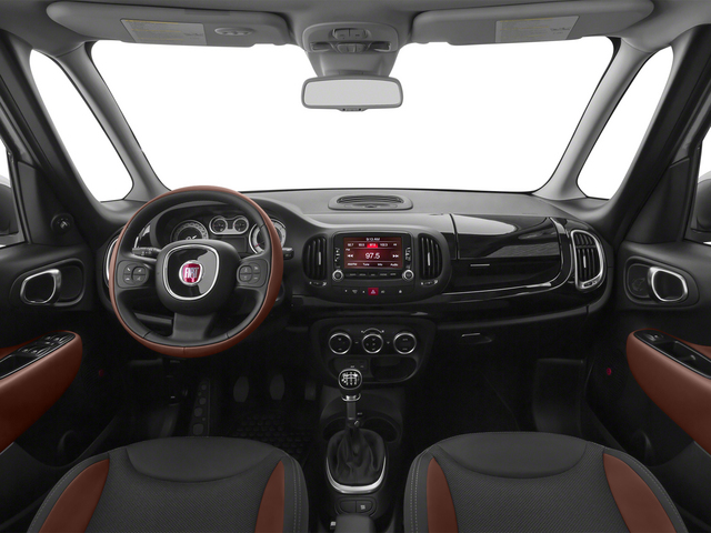 2015 FIAT 500L Pictures 500L Hatchback 5D L Trekking I4 Turbo photos full dashboard