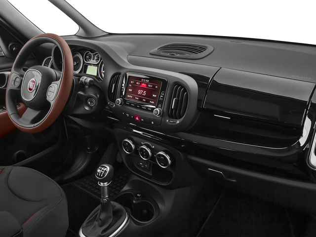 2015 FIAT 500L Pictures 500L Hatchback 5D L Trekking I4 Turbo photos passenger's dashboard
