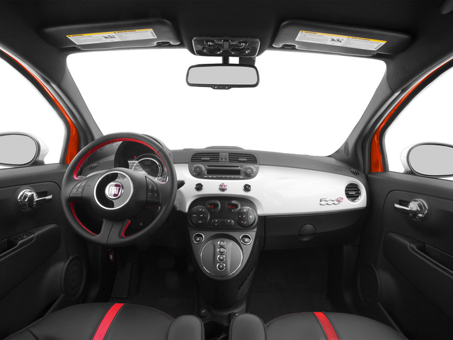 2015 FIAT 500e Pictures 500e Hatchback 3D 500e Electric photos full dashboard
