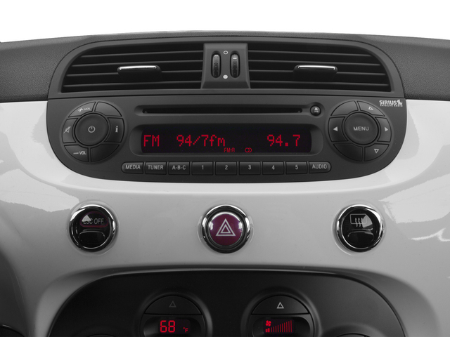 2015 FIAT 500e Pictures 500e Hatchback 3D 500e Electric photos stereo system