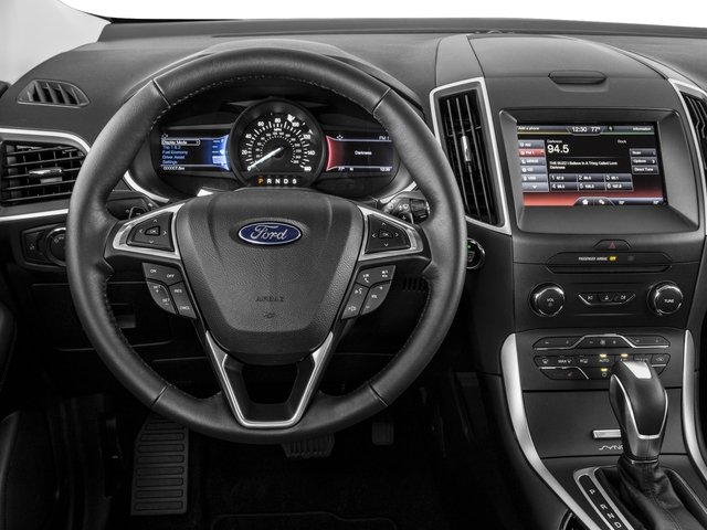 2015 Ford Edge Pictures Edge Utility 4D Titanium 2WD V6 photos driver's dashboard