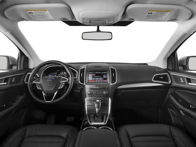 2015 Ford Edge Pictures Edge Utility 4D Titanium 2WD V6 photos full dashboard