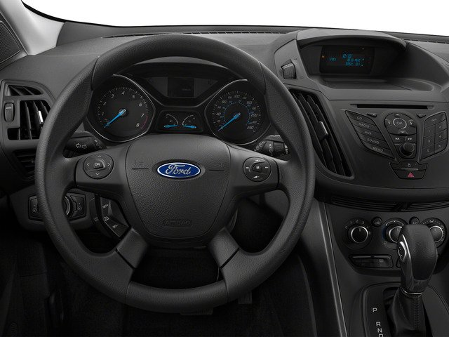 2015 Ford Escape Prices and Values Utility 4D S 2WD driver's dashboard