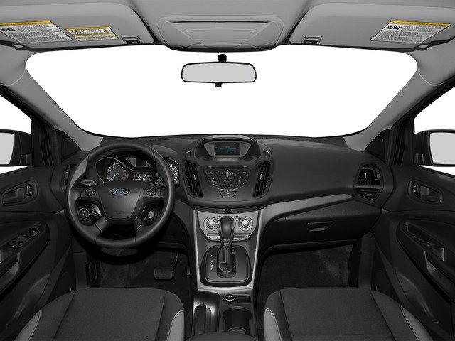 2015 Ford Escape Prices and Values Utility 4D S 2WD full dashboard