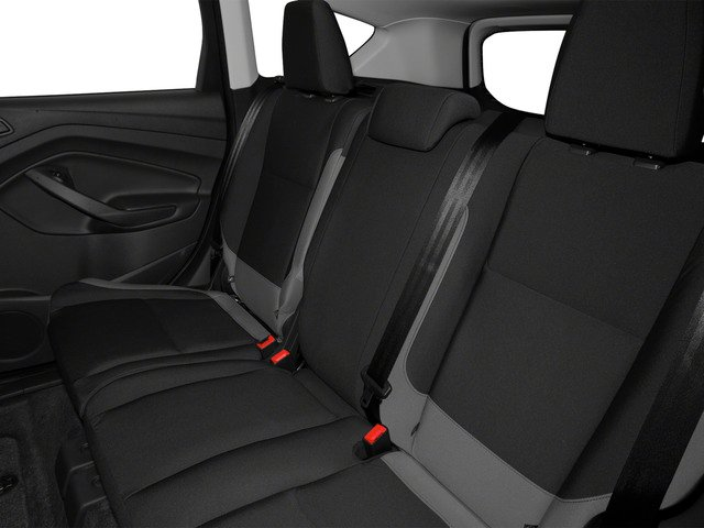 2015 Ford Escape Prices and Values Utility 4D S 2WD backseat interior