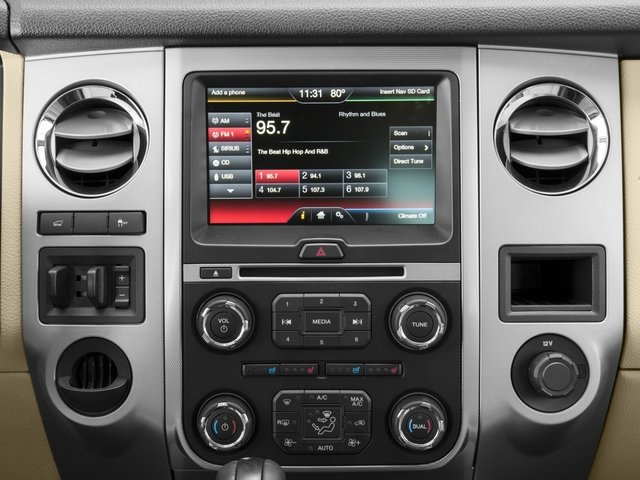 2015 Ford Expedition Prices and Values Utility 4D Limited 2WD stereo system